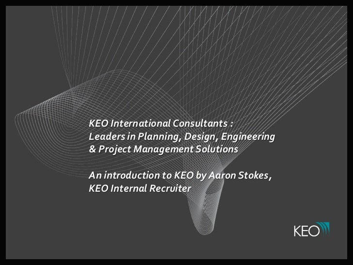 KEO International Consultants :Leaders in Planning, Design, Engineering& Project Management SolutionsAn introduction to KE...