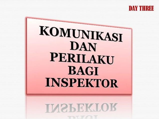 Pelatihan Kepemimpinan dalam Inspeksi