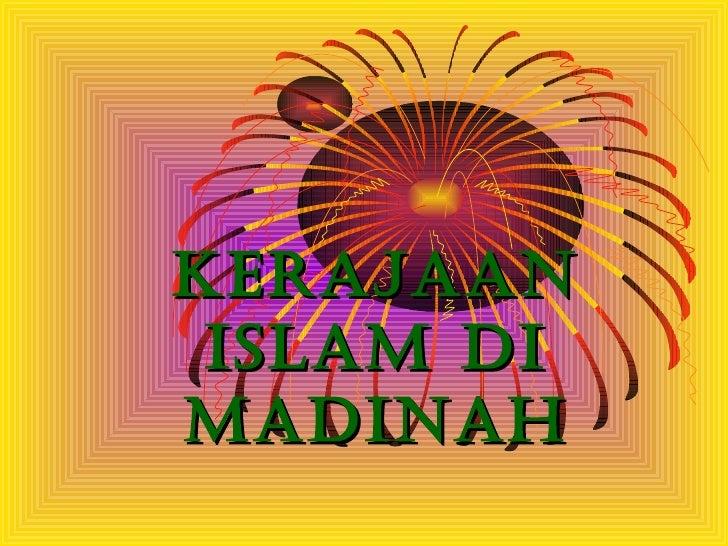 Kerajaan islam madinah