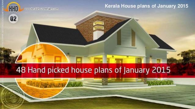 Kerala house plans of january 2015 for Kerala home designs 2015