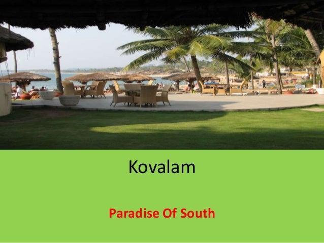 Kovalam Paradise Of South