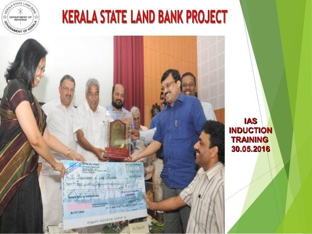 Kerala state land bank project