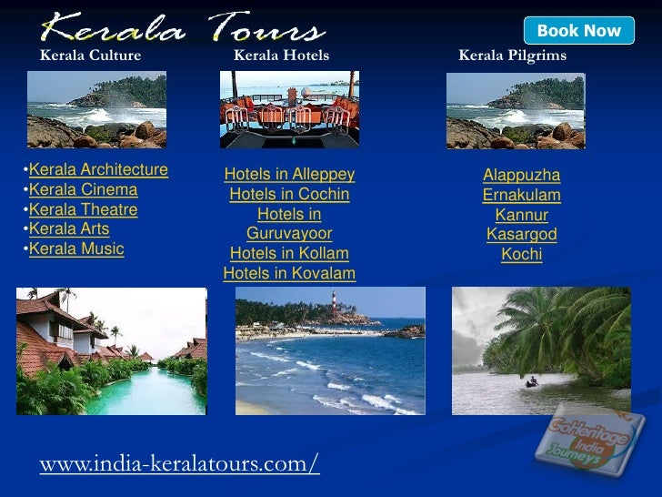 Kerala Tour Guide Book
