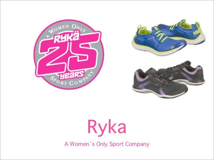 RykaA Women s Only Sport Company