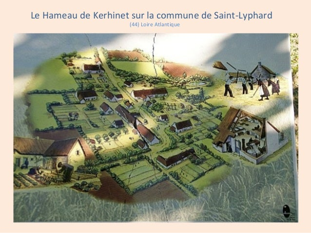 Le Hameau de Kerhinet sur la commune de Saint-Lyphard (44) Loire Atlantique