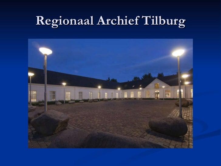 Regionaal Archief Tilburg