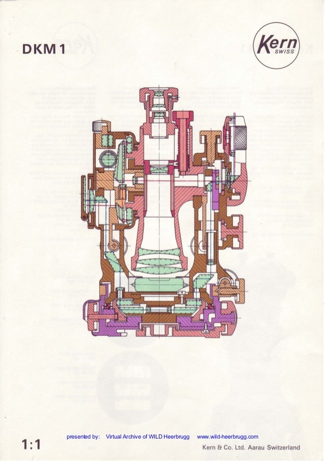 · DKM1 1:1 Kern & Co. Ltd. Aarau Switzerland presented by: Virtual Archive of WILD Heerbrugg www.wild-heerbrugg.com
