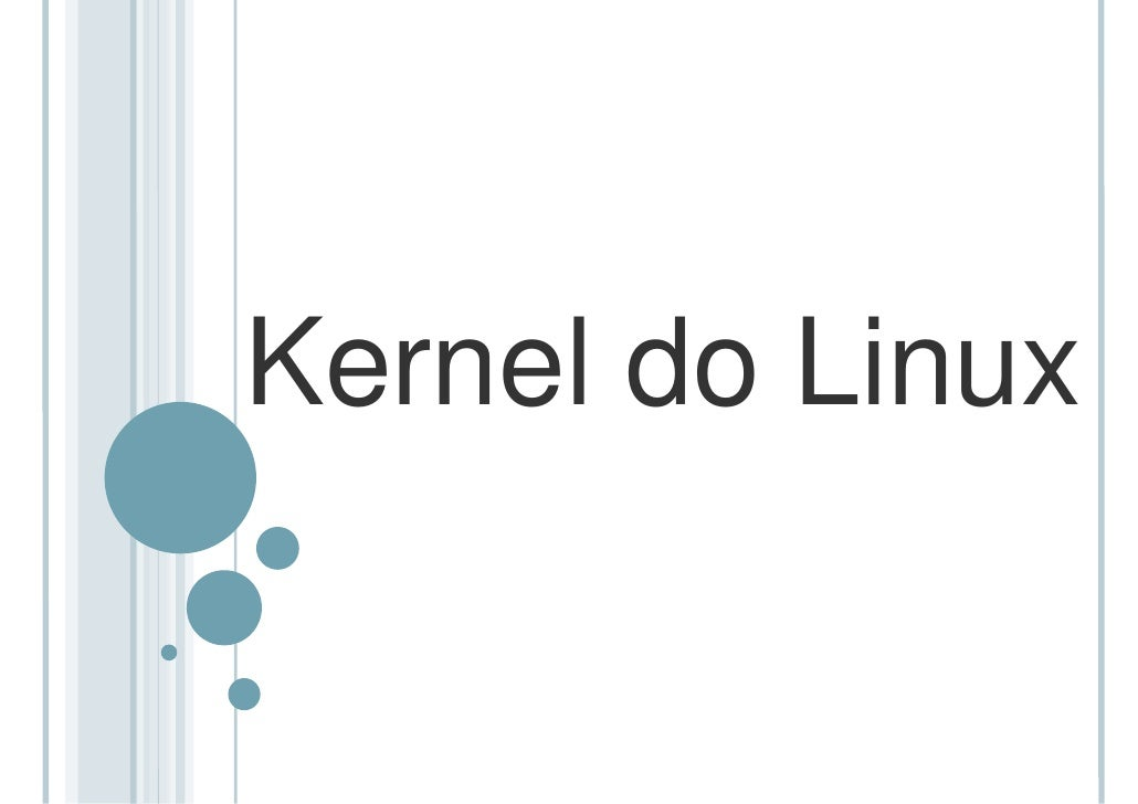Kernel do Linux