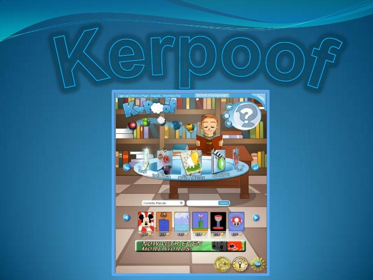 Kerpoof - Making a Movie