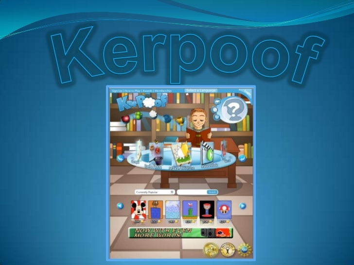 Kerpoof: Making a Movie