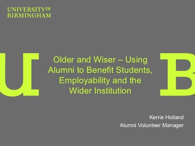 AUA Development Conference 2012 - Kerrie Holland