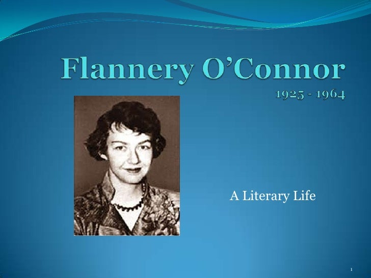 flannery o connor thesis