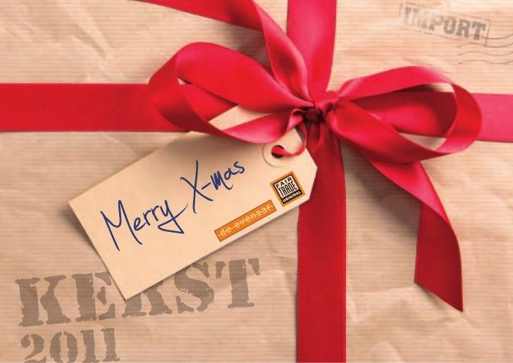 Kerstpakketten 2011 bestelt u bij Wereldwinkel Ridderkerk