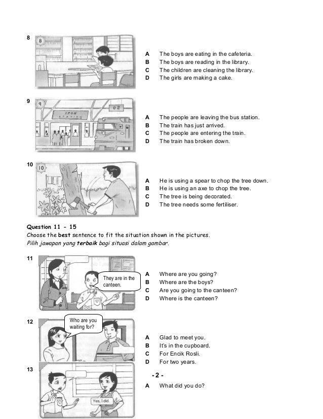 Bahasa inggeris tingkatan 4 essay