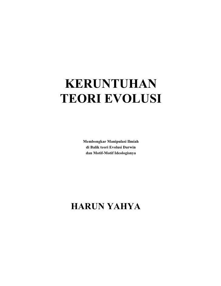 Keruntuhan Teori Evolusi