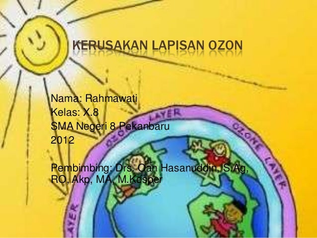 Kerusakan lapisan ozon
