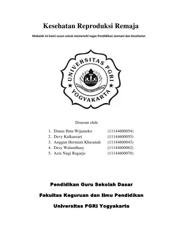 Kesehatan reproduksi remaja (revisi)