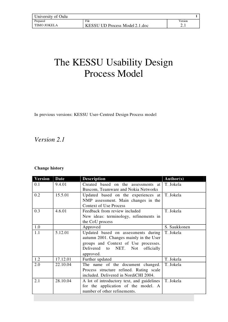 Kessuud Process Model2.1