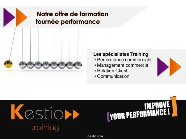 Les spécialistes Training Performance commerciale Management commercial Relation Client Communication  Kestio.com