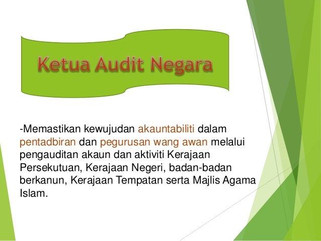 Ketua audit negara