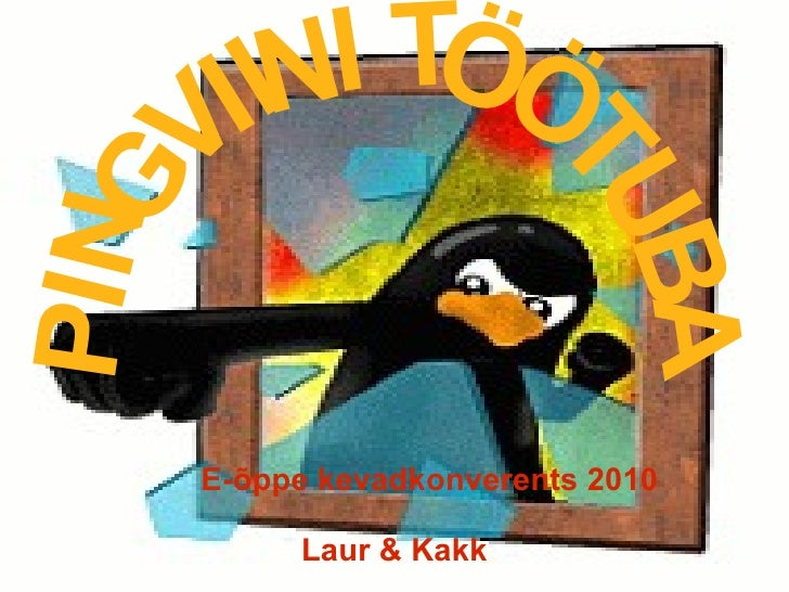 Pingviini töötuba
