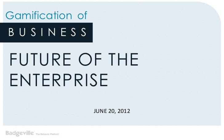 "Kevin Akeroyd & Wes Wasson - ""Gamification for Business: The Future of the Enterprise"""