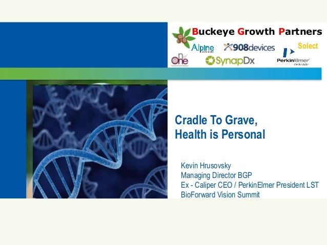 2013 Bioscience Vision Summit - Kevin Hrusovsky: Inspiring a Global Health Revolution