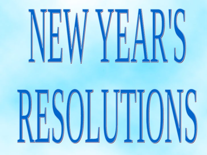 Kevin new year's resolutions