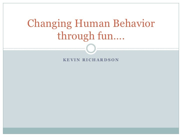 """Kevin Richardson - """"Changing Behavior with Positive Reinforcement: Speed Camera Lottery & Beyond"""""""