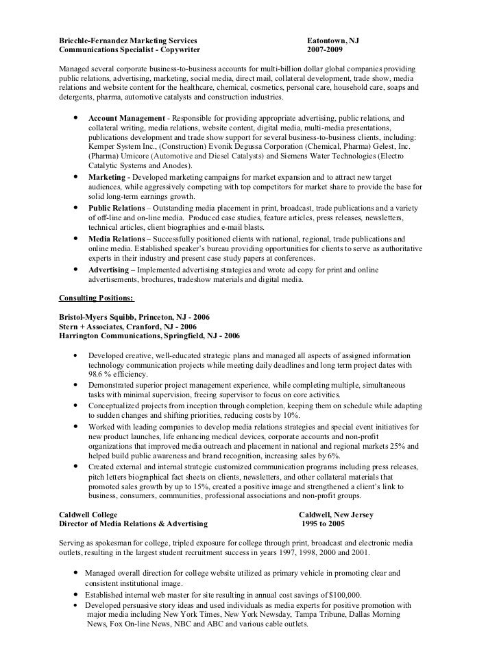 media relations specialist resume 28 images resume