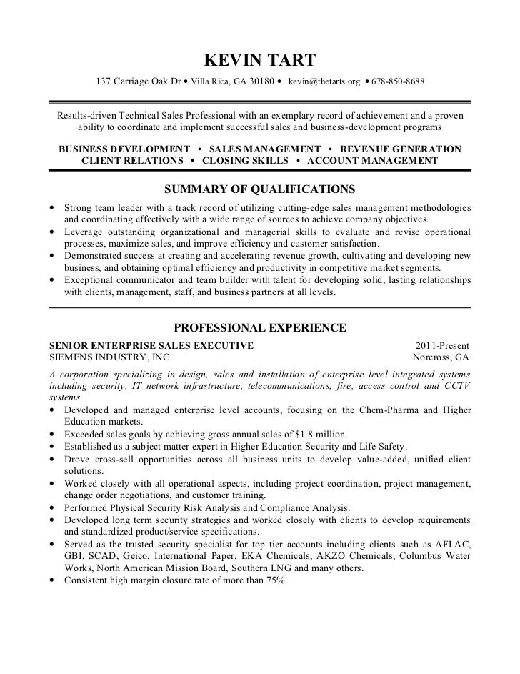 Network Security Specialist Sample Resume
