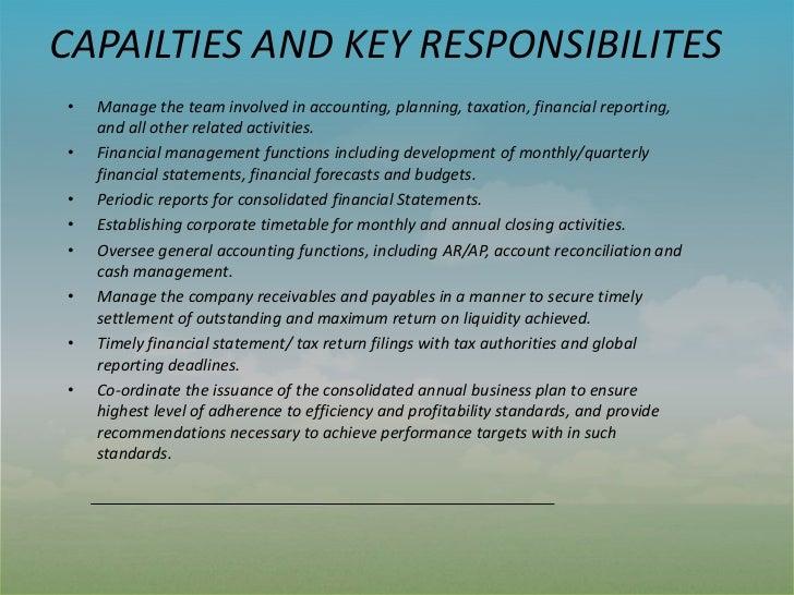 accomplishments capabilities