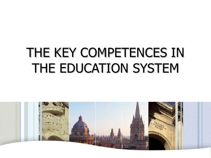 Key competences oxford