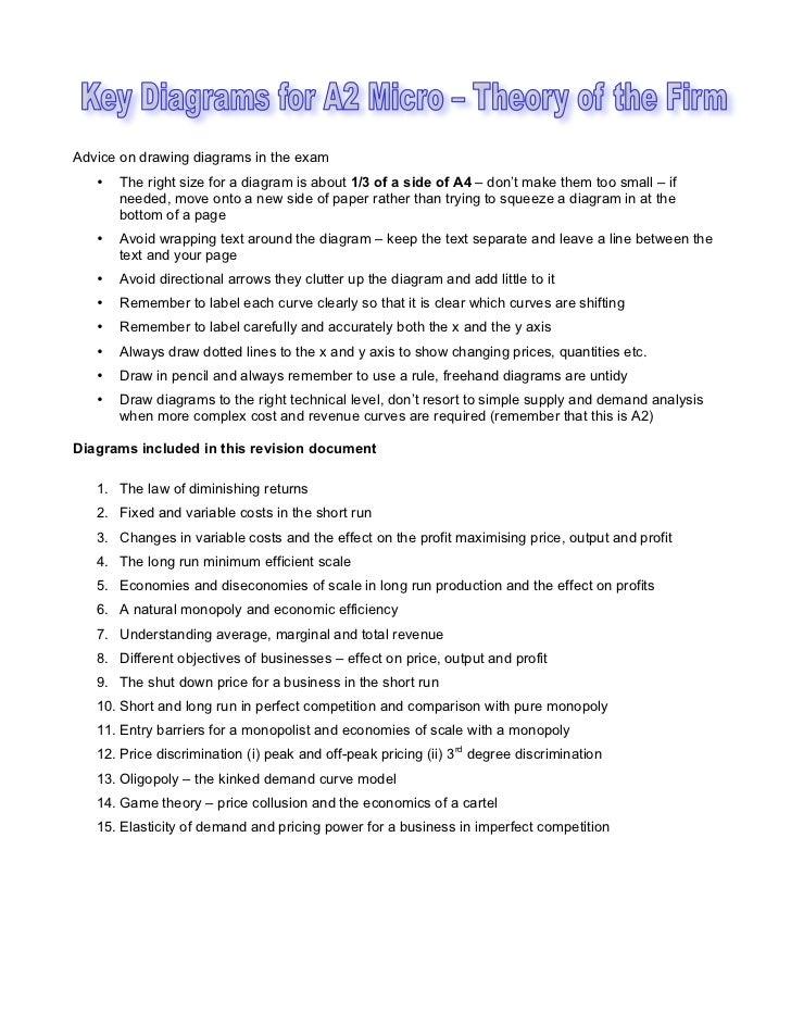 Key diagrams for unit 3
