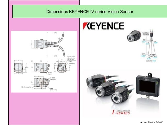Keyence Iv Vision Sensor On Cable Marking