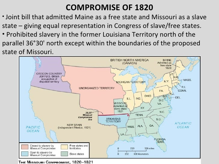 the compromise of 1850 and missouri compromise essay The compromise of 1850 was a package of five separate bills passed by the  united states  the extension of the missouri compromise line was proposed  by failed amendments to the wilmot proviso by william w wick and then  stephen.