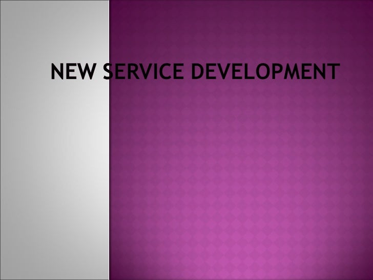 Key Factors For New Service Development