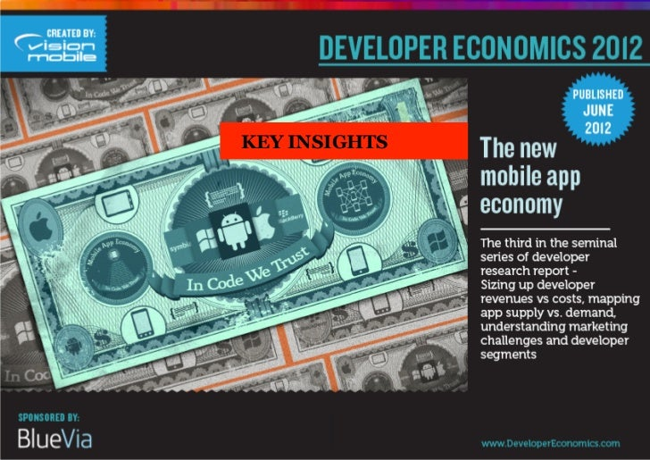 Key insights from developer economics 2012