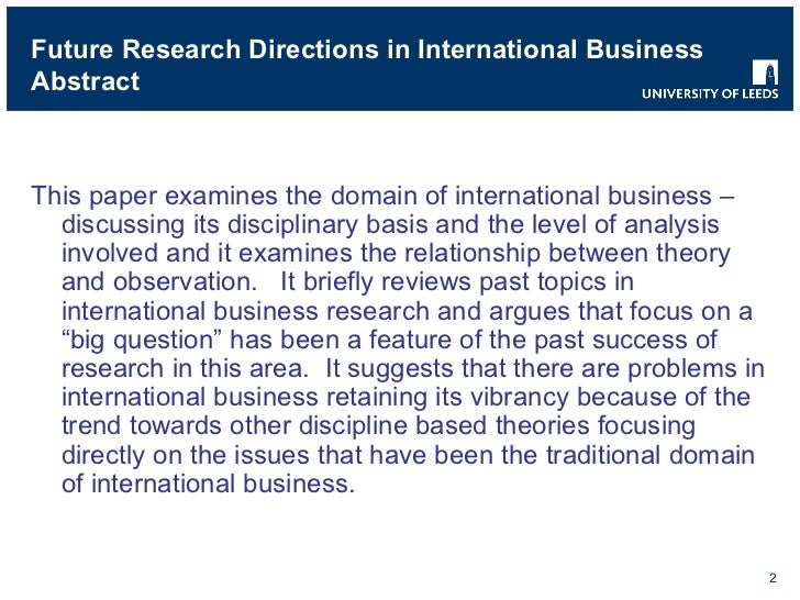 directions for research paper