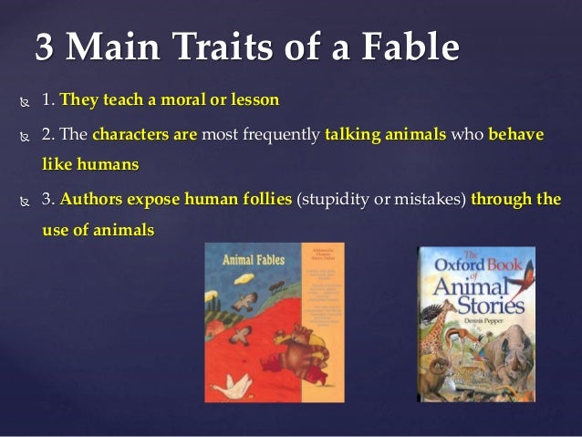 the fable essay