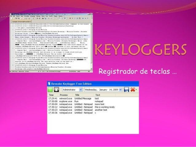 Registrador de teclas …