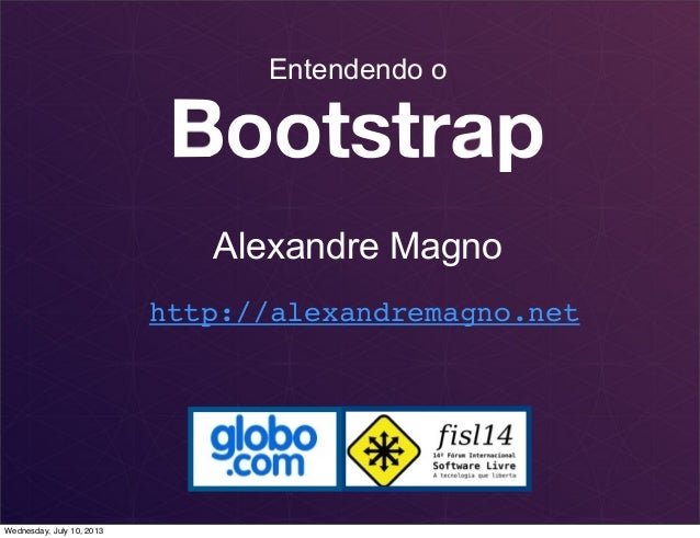 Keynote   por dentro do bootstrap