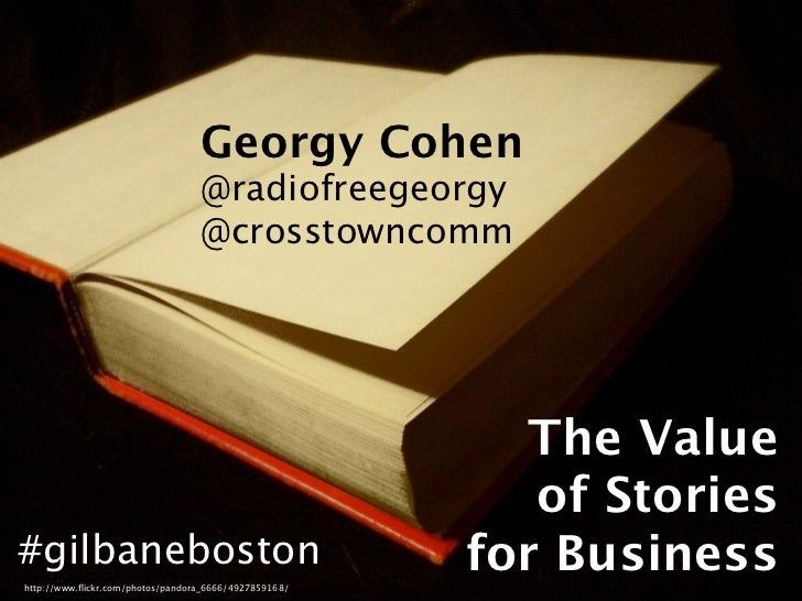 The Value of Stories for Business