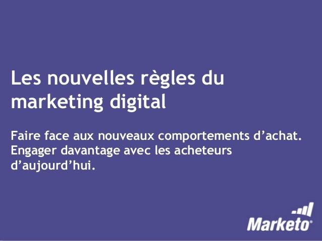 Les Nouvelles Règles Du Marketing Digital