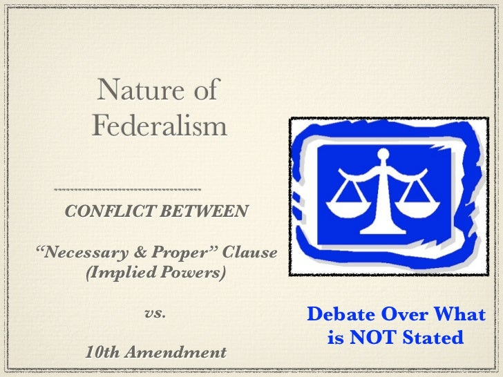 a study of the necessary and proper clause of the united states constitution Term: necessary and proper clause definition: the flexible part of the constitution that states that congress has the power to make all laws which shall be necessary and proper for carrying into execution the foregoing powers, and all other powers vested by this constitution in the government of the united states, or in any department or officer thereof also called the elastic clause.
