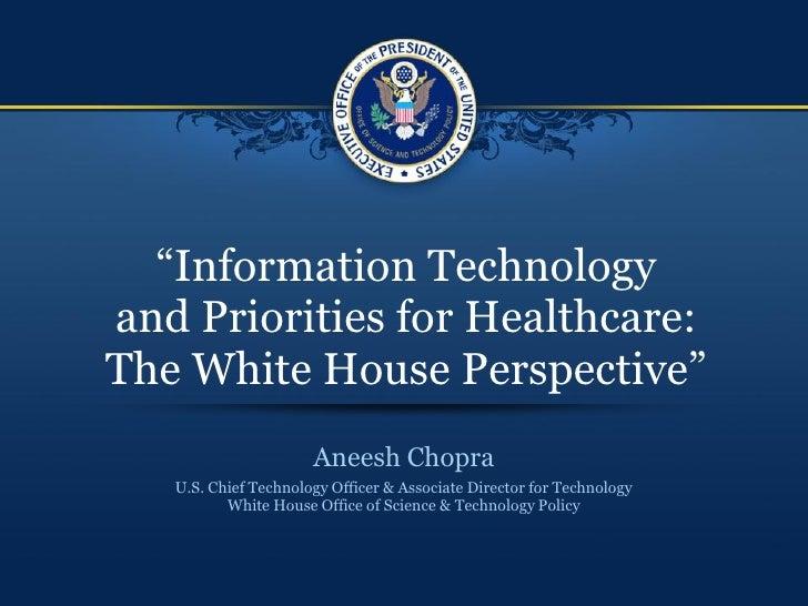 Aneesh Chopra CAQH Keynote