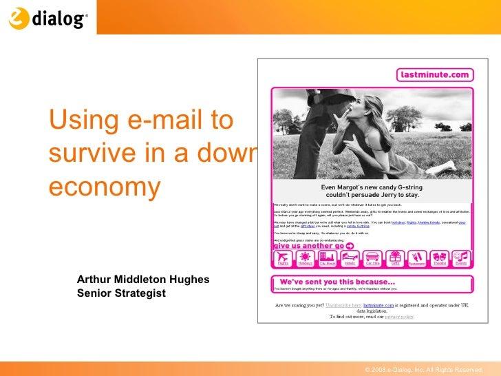 Keynote Email In A Downturn