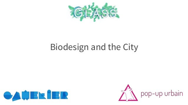 Biodesign and the City