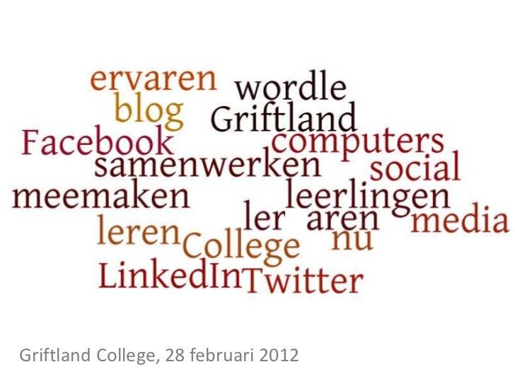 Social Media in het voortgezet onderwijs
