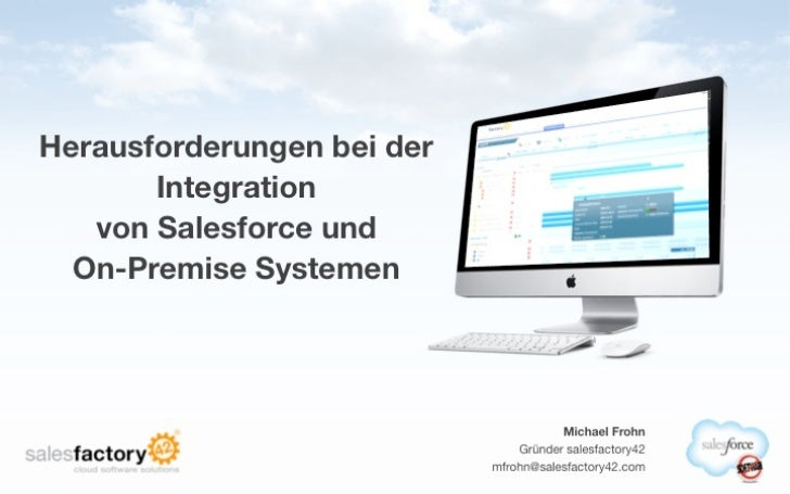 Keynote Salesforce / SAP Integration - Herausforderungen